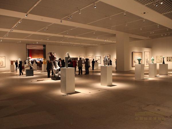 《清华大学美术学院造型艺术教师作品展》开幕
