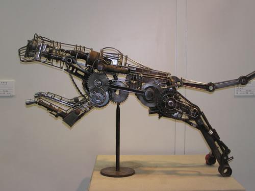 崔齐金属雕塑展