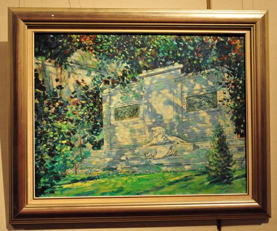 刘海粟美术馆画家分享展示图片
