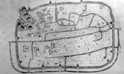 快去看看清朝的杭州地图