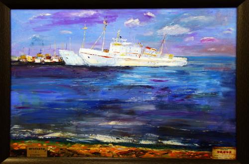 今天上午,由哈尔滨太阳岛风景区管理局,俄罗斯科麦罗沃市美术家协会