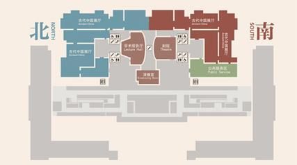 手机展厅手绘平面图