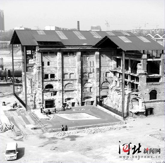 该项目坐落在中国第一桶水泥诞生地——— 启新水泥厂,占地面积94.