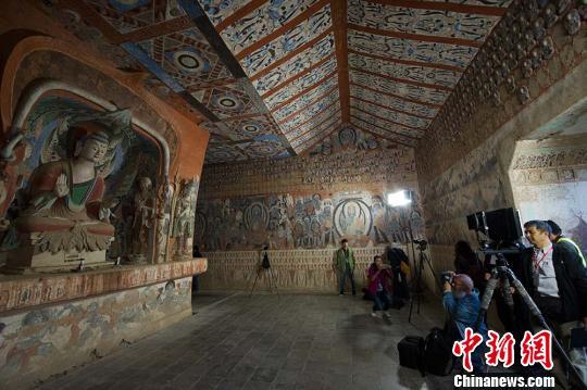敦煌研究院致力教育传承拉近古老敦煌文化与青年距离