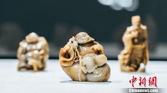 """""""上海最大民营博物馆""""金刚博物馆1日开门迎客,全馆面积约2万平方米。 申海 摄"""