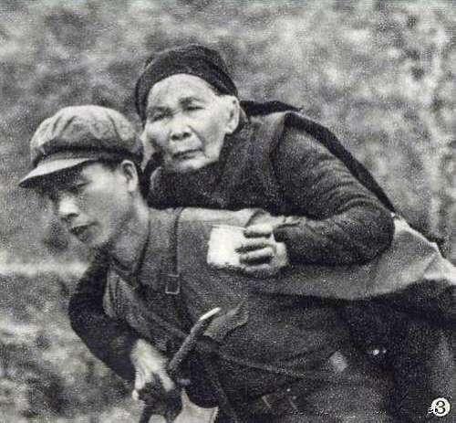 仁义之师 中国人民解放军在越南留影