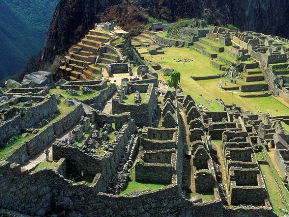 今天的马丘比丘 世界文化遗产