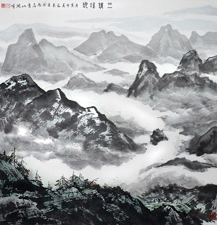 赣鄱神韵----王林森山水画展 - 明藏菩萨 - 上塔山房de博客