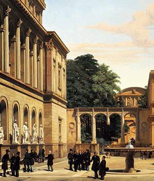 """19世纪的法国梦""""学院与沙龙"""""""