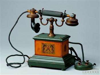 中国早期的电话机